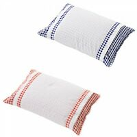 Japanese Sobakawa Pillow Removable Pillowcase Gingham Check Japan with Tracking