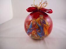 Christmas Ornament, Nativity, Manger, Patricia Reach