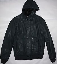 NICKELSON UK HOODED JACKET IN SLATE SIZE L
