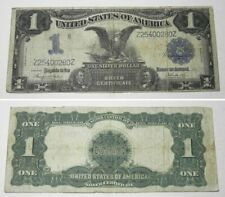 New Listing1899 Large Size Black Eagle Silver Certificate $1 Note, Z25400280Z, Date Right