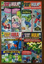 Tales To Astonish #64 67 68 69 - Lot Of 4 Hulk Giant-Man Leader Wasp Attuma 1965