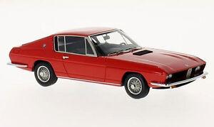wonderful modelcar BMW 2000TI FRUA COUPE 1968 - r e d  - 1/43