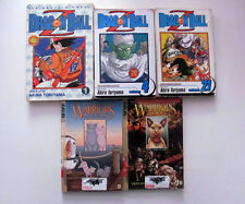 Dragon Ball Z 1, 4, 21 Warriors 1, 3 Tigerstar Manga Lot Akira Toriyama Goku