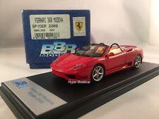 BBR Model 1/43 Ferrari 360 Modena Spider 2000 Red Art. BBR136B