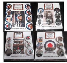 Quadrophenia :4 Sets (sold seperately as) The Mods, Album, Film & Iconic Images