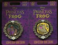 Princess and the Frog 10th Anniversary 1 Tiana Facilier LE Disney Pin 137450