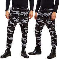 Pantaloni uomo tuta cavallo basso harem turca militari mimetici TOOCOOL 25502