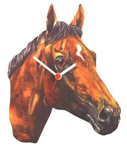 Thoroughbred Horse Clock - Thoroughbred Horses - Horse Clocks - HO23-C