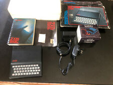 Sinclair ZX81 Personal Computer BOXED COMPLETE + Excellent Condition TESTED