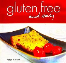 LIKE NEW Gluten Free and Easy by Robyn Russell FREE AUS POST paperback