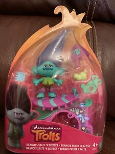 Dreamworks Trolls Branch's Skate And Skitter Toy Age 4 + Brand New Sealed