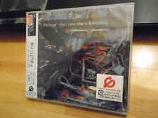 SEALED RARE JAPAN Faultline CD Your Love Mean Everything COLDPLAY Flaming Lips !