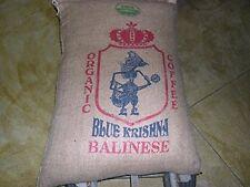 2.5 Pounds Bali Blue Moon Organic RFA, Fresh Green, Un-Roasted Coffee Beans