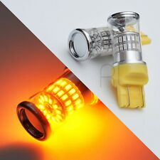 2X AMBER 7443 48-LED SMD TURN signal CORNER - HIGH POWER - LIGHT BULBS