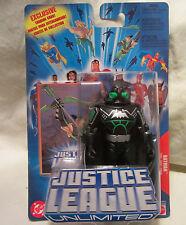 Liga de la Justicia Ilimitado BATMAN EN NEGRO COMPATIBLE Figura acción 2004