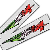 APRILIA RSV4 Décalques Stickers graphique MOTO 2 DRAPEAU ITALIEN petit style 3