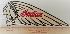 Indian Motorcycle Chief Warrior scout Patch