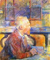 Van Gogh by Henri de Toulouse Lautrec Giclee Fine Art Print Repro on Canvas