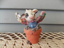 1996 Mary's Moo Moos 207136 Figurine Peek A Moo