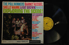 Barney Kessel/Poll Winners-Exploring The Scene!-Contemporary 3581-MONO