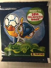 (3) 2014 Panini FIFA Road to the World Cup Factory Sealed Sticker Packs
