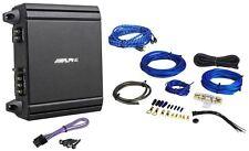 Alpine MRV-M250 250 Watt RMS Mono Class D Amplifier + Amp Kit