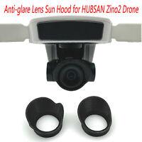 Mini Anti-glare Lens Sun Hood Sunshade Protective Cover pour HUBSAN Zino2 Drone