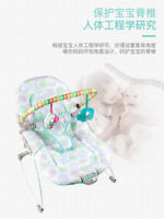 Baby Cradle Sleep Musical Rocking Chair Electric Swing Bouncer Crib