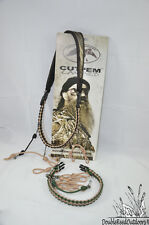 Duck Commander CUT EM Lanyard With Swap-Out Braids and Snap Swivels