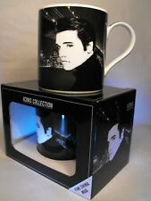 ELVIS PRESLEY GIFT THE KING  ICON FINE CHINA BOXED MUG ELVIS GIFT PRESENT UK