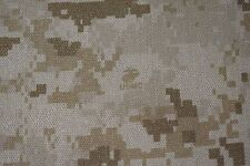 "Desert Marpat Military NY/CO Nomex Twill Camouflage Fabric 64"" Wide USMC Logo FR"
