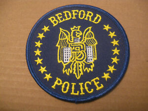 BEDFORD TEXAS POLICE PATCH