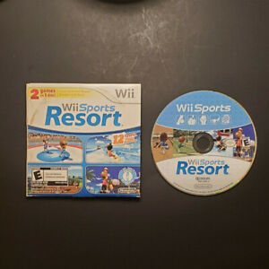 Wii Sports Resort / Wii Sports 2 in 1 Disc (Nintendo Wii 2009) Tested Works Rare