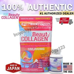 AUTHENTIC LUXCENT L-GLUTATHIONE & PURE BEAUTY COLLAGEN 100,000MG COMBO