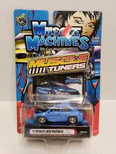 Muscle Machines Muscle Tuners '01 Mitsubishi Lancer Evolution VII Blue 2004