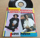 """DISQUE 45T DE DIONNE WARWICK & JEFFREY OSBORNE """" LOVE POWER """""""