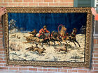 antique vintage wall hanging tapestry bought in Palma,Spain 1958 or 1959