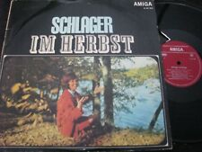 SCHLAGER IM HERBST Ina Martell, Nina Lizell... / DDR MONO LP 1969 AMIGA 850184