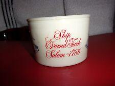 OLD SPICE SHAVING MUG ~ SHIP GRAND TURK - SALEM 1786