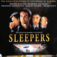SLEEPERS WS VF - PAL LASERDISC Robert De Niro, Kevin Bacon, Brad Pitt