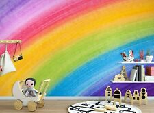 3D Rainbow Painting Zhua8065 Wallpaper Wall Murals Removable Self-adhesive Amy