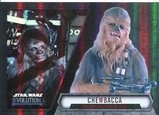 Star Wars Evolution 2016 Base Card #58 Chewbacca - Millennium Falcon Co-Pilot