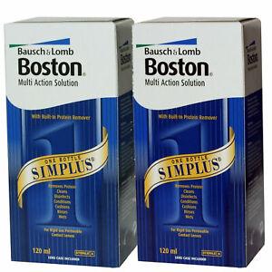 Boston Simplus Multi Action Contact Lens Solution 1 x 120ml