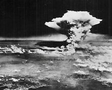 "Atomic Bomb Mushroom Cloud over Hiroshima, Japan 8""x 10"" World War II Photo 300"