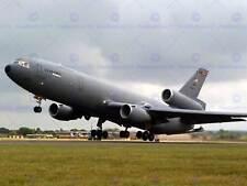 Military Air Plane Fighter Jet USAF KC10 Extensor de combustible cartel Art Print BB1170A