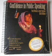 NEW: Confidence in Public Speaking Sixth Edition: Annotated Instructor's Edition