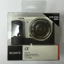 Genuine Sony LCS-EBD Body Case Black for ILCE 5100 5000