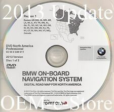 2007 2008 BMW 328i 328xi 335i 335xi Navigation DVD EAST Coast Map 2013 Update