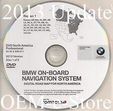 2007 2008 2009 BMW X5 X6 M5 M6 5Series Navigation DVD EAST Coast Map 2013 Update