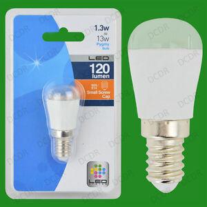 100x 1.3W LED Pygmy Night Light Ultra Low Energy Bulb SES E14, Small Screw Lamp